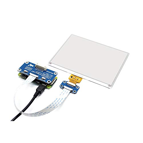 Ywzhushengmaoyi 5.83inch E-Ink Display e-Paper HAT(B) for Raspberry Pi Red/Black/White Color SPI Interface 600x448 Electronics Module Parts