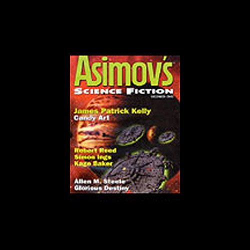 The Best of Asimov's Science Fiction Magazine 2002 audiobook cover art