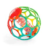 Product Image of the Bright Starts Oball Rollin' Rainstick Rattle Easy-Grasp Toy, Ages 3 Months +