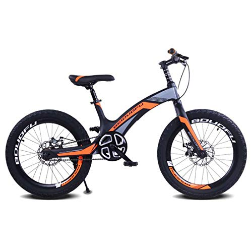 MUYU Magnesium Legering Kinderen Mountainbike 20 Inch Stoel Verstelbare Voor En Achterste Dubbele Disc Remmen
