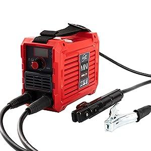 110V Mini ARC Welder 200Amp MMA Welding Machine IGBT Digital LCD Display Electric Welding Machine with Electrode Holder…