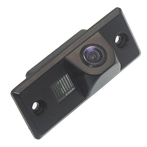 Navinio Colore telecamera di retrovisione con linee di griglia come luce targa, sensore di parcheggio Nero per CAYENNE VW TIGUAN santana TOUAREG POLO sedan PASSAT GOLF V 5