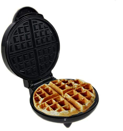 WANGIRL La máquina Mini Waffle Maker para Waffles Individuales, paninis, Hash Browns, Otro en el Desayuno, Almuerzo o bocadillos 1200W LOLDF1