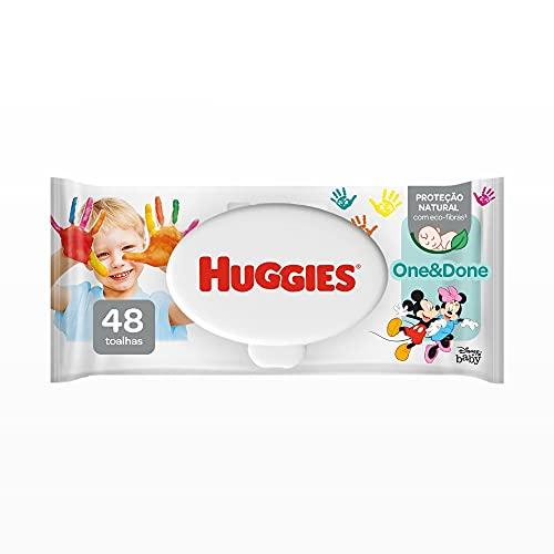 Huggies One & Done, Lenços Umedecidos, 48 toalhas