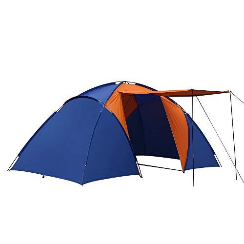 2 kamers, 1 Hal Tent, 4 Personen, Outdoor Producten, Regendichte Zonnebrandtent, Wild Waterdicht, Koude Visserij Schuur Outdoor Equipment Zwembed