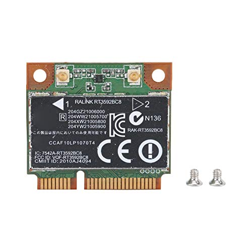 Heayzoki Intel Network Card, RT3592BC8 Wireless Network Card 300Mbps with Bluetooth 3.0 for HP 4431/4530s/4230s/4330s