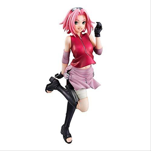 Gddg Naruto: Shippuuden 28 Sakura Sakura Sakura Sakura Colección de Adornos Modelo de animación Personaje de Juguete (22 cm)