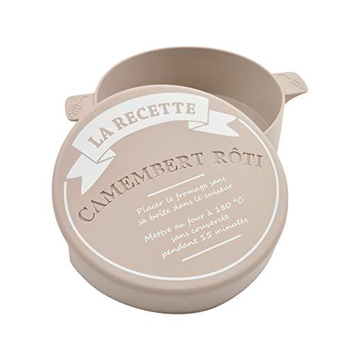 CÉCOA–Recipiente para cocinar camembert (silicona)