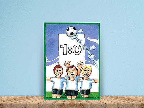 Personalisiertes Kinderbuch: Fussball 1:0