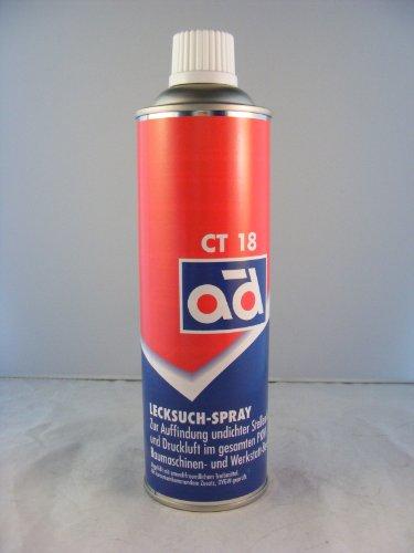 AD Chemie Lecksuchspray Ct 18 400Ml Spraydose Gas Spray Klimaanlage Auto Reifen Kfz Leck Luft Schlauch Druckluft Lecksucher 406051800
