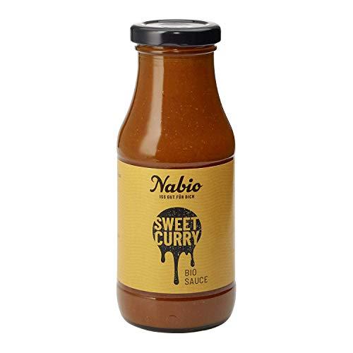 Nabio Bio Sweet Curry Sauce, Vegan, 240ml