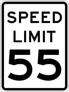 55-MPH SPEED LIMIT Signs - 24x30