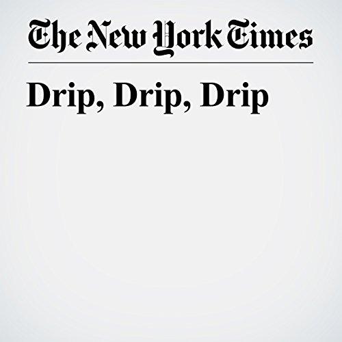 Drip, Drip, Drip copertina