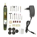 Mini Set Trapano Kit Smerigliatrice Smerigliatrice Elettrica Foratura Lucidatura Utensile Rotante per Molatura/Incisione/Foratura/Lucidatura(EU plug 220V)