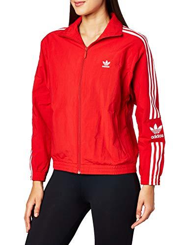 adidas Damen Lock Up Tt Sweatshirt, scarlet, 36 (Herstellergröße: 42)