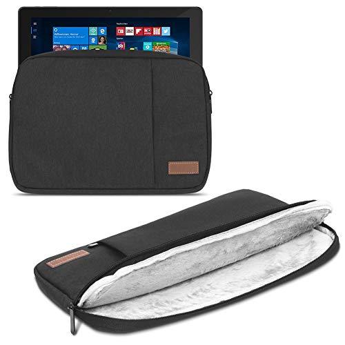 UC-Express Tablet Tasche für HANNSpree HANNSPad Poseidon 11,6 Hülle Schwarz Schutzhülle Hülle Cover Schwarz