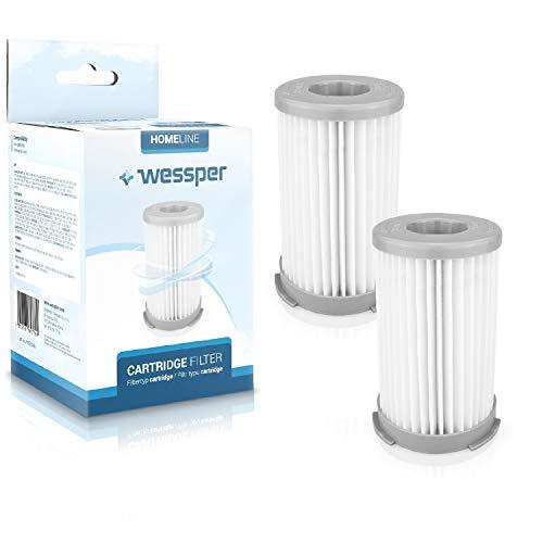 Wessper 2er-Pack HEPA Filter für Electrolux Staubsauger (Vergleichbar mit EF75B, F120, AEF75B)