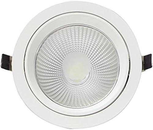 Jamara jamara701123 0  20 Tageslicht Weiß led Frozen Eye Einbauleuchte