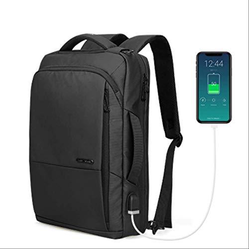Rugzak QLXG Reizen Rugzak Grote Capaciteit Tiener Man Anti-dief Tas USB Opladen 15.6 Inch Laptop Rugzak Waterdicht