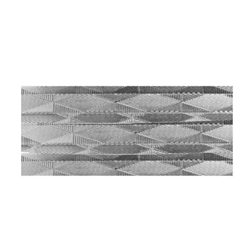 Vaessen Creative Aludraad platte sieraden 5 mm x 3 meter | buigzaam sieraaddraad zilver, aluminium, 300 x 0,5 x 0,5 cm