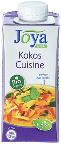 Joya Bio Kokos Cooking Cream, 15er Pack (15 x 200 ml)