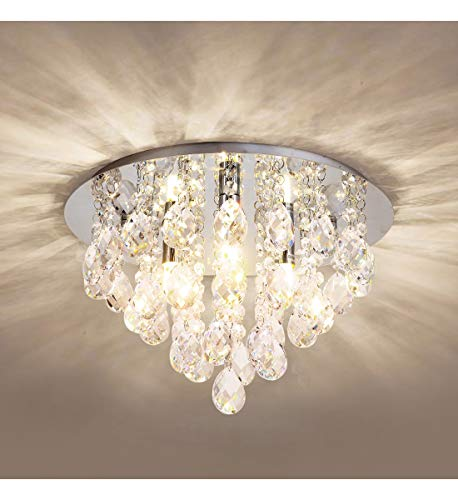 Crystal Ceiling Light,Modern Cha...