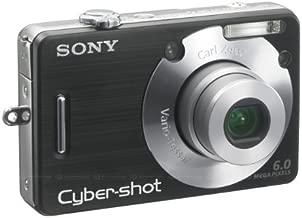 Sony Cyber-shot DSC-W50 6MP Digital Camera with 3x Optical Zoom Black