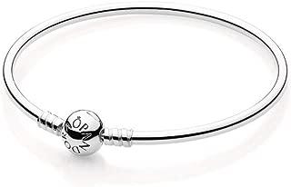 Bangle Bracelet Sterling Silver Bracelet with Signature Clasp