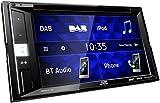 JVC KW-V255DBT DAB+ Multimedia-Autoradio mit 15,7 cm Touchscreen (2-DIN, DVD, Bluetooth Freisprecheinrichtung, Soundprozessor, USB, Android- & Spotify Control) Schwarz