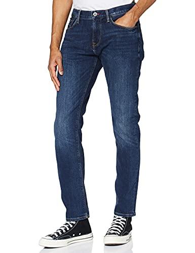 Tommy Hilfiger Hombre CORE BLEECKER SLIM JEAN Jeans, Azul (New Dark Stone 919), W33/L30