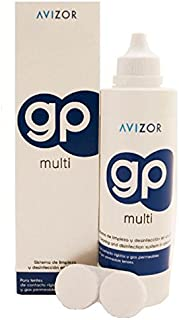 Avizor GP Multi Contact Lens Solution for Rigid and Gas- Permeable Contact Lenses (240ml) by Avizor GP Multi