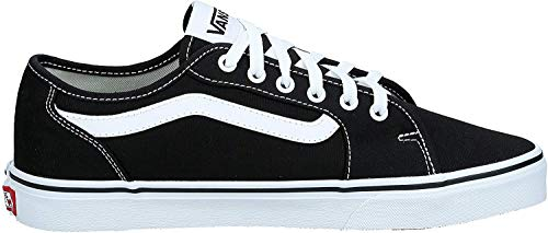 Vans Herren MN Filmore Decon Sneaker, Schwarz ((Canvas) Black/White 187), 43 EU