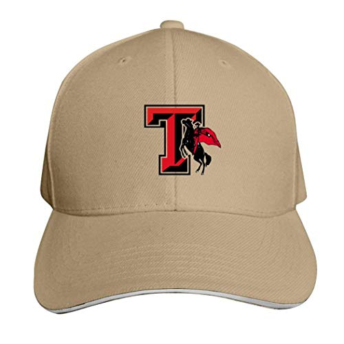 Texas Tech Casquette de football réglable Rouge Raiders, Homme, 457PNUA-OSK-F6E, naturel, ONE_SIZE