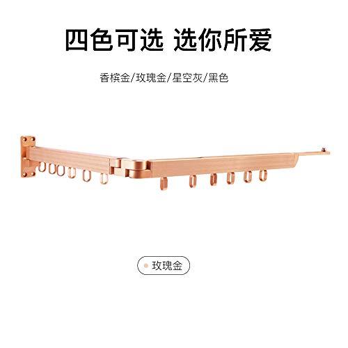 Hanger. Perchero Plegable Multifuncional Oculto retráctil-Oro Rosa