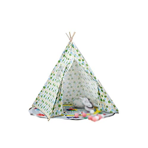 TENT Children's huis decoratie Doek, Vouwen Idyllische Children's Play House Prins Prinses Secret Base Baby Slaapkamer Familie Party Geschenken Fotografie rekwisieten