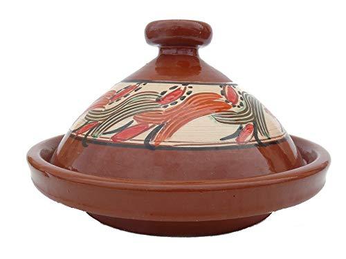 Marokkanische Tajine zum Kochen Ø 35 cm für 3-5 Personen - 905118-000914