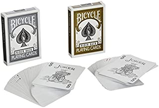 MMS Cards Bicycle Gold and Silver Back Set - Trick