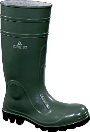Delta plus botas - Bota seguridad gignac pvc plantilla acero verde talla 42