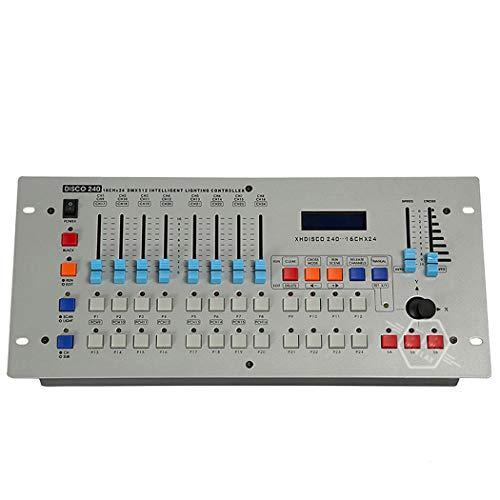 QCKDQ Consola DMX512, 240 Canales DMX 512 Profesionales De La Consola De...