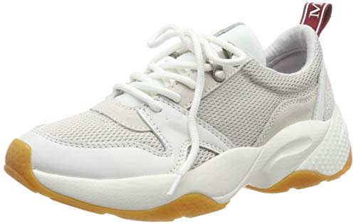 Marc O'Polo 90815233501610, Zapatillas Mujer, Blanco (White 100), 38 EU