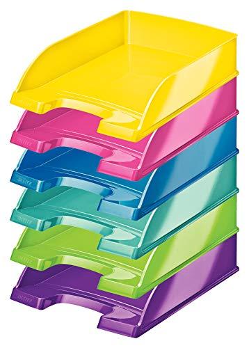 Leitz WOW Serie (Farbe: sortiert, Briefablage | 6 Stück)