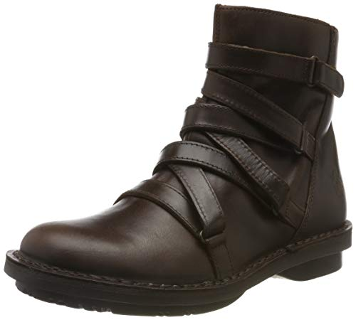 Fly London Damen FELT005FLY Stiefeletten, Braun (DK. BROWN 001), 35 EU