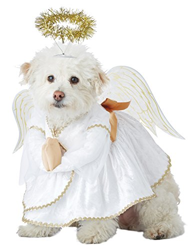 California Costumes Pet Heavenly Hound Dog Costume Costume