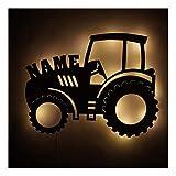 Traktor Geschenke Geschenkidee I Nachtlicht personalisiert