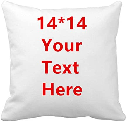 Aonp Novelty Cotton Throw Pillowcase Add Picture Text Logo Custom Your Own Funny Cushion Covers product image
