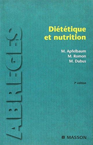 Diététique et nutrition (Ancien Prix éditeur : 54 euros)