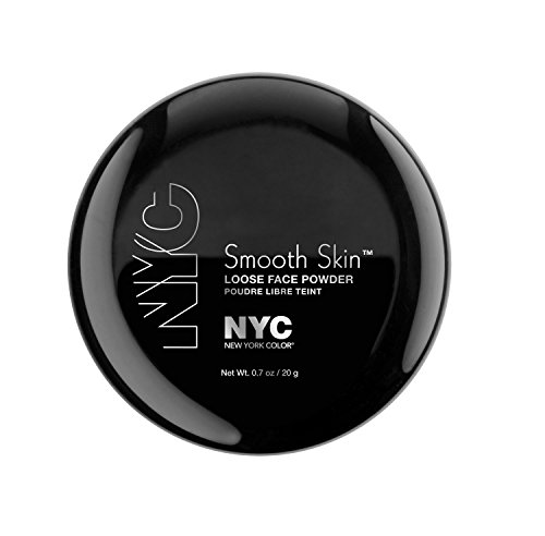 N.Y.C. New York Color Smooth Skin Loose Face Powder, Translucent, 0.7 Ounce