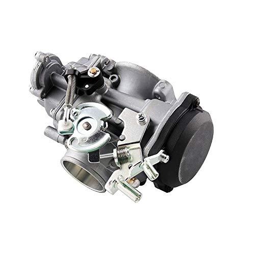Fashion SHOP Carburador Carburador de Motocicletas CV40 40mm Compatible con 27490-04 27465-04 Carburador Harley-Davidson Softy Cycle 1988-2017 Motocicleta Controlar