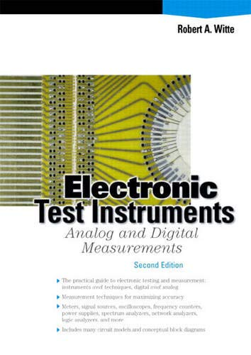 Electronic Test Instruments: Ana...