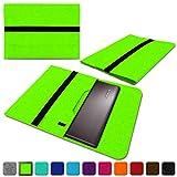 NAUC Lenovo Thinkpad Yoga 370 Tasche Hülle Filz Sleeve Case Schutzhülle Notebook Cover, Farben:Grün